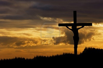 silhouette-of-jesus-christ