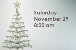 advent decorating with date
